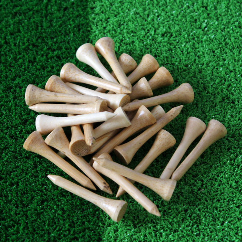 2017 New Hot Sale bamboo golf tee 42mm 100Pcs/pack Golf Tees,Free Shipping
