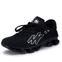 새로운 슈퍼 통기성 실행 신발 남성 운동화 바운스 야외 스포츠 신발 전문 교육 신발 플러스 사이즈 46 47 48