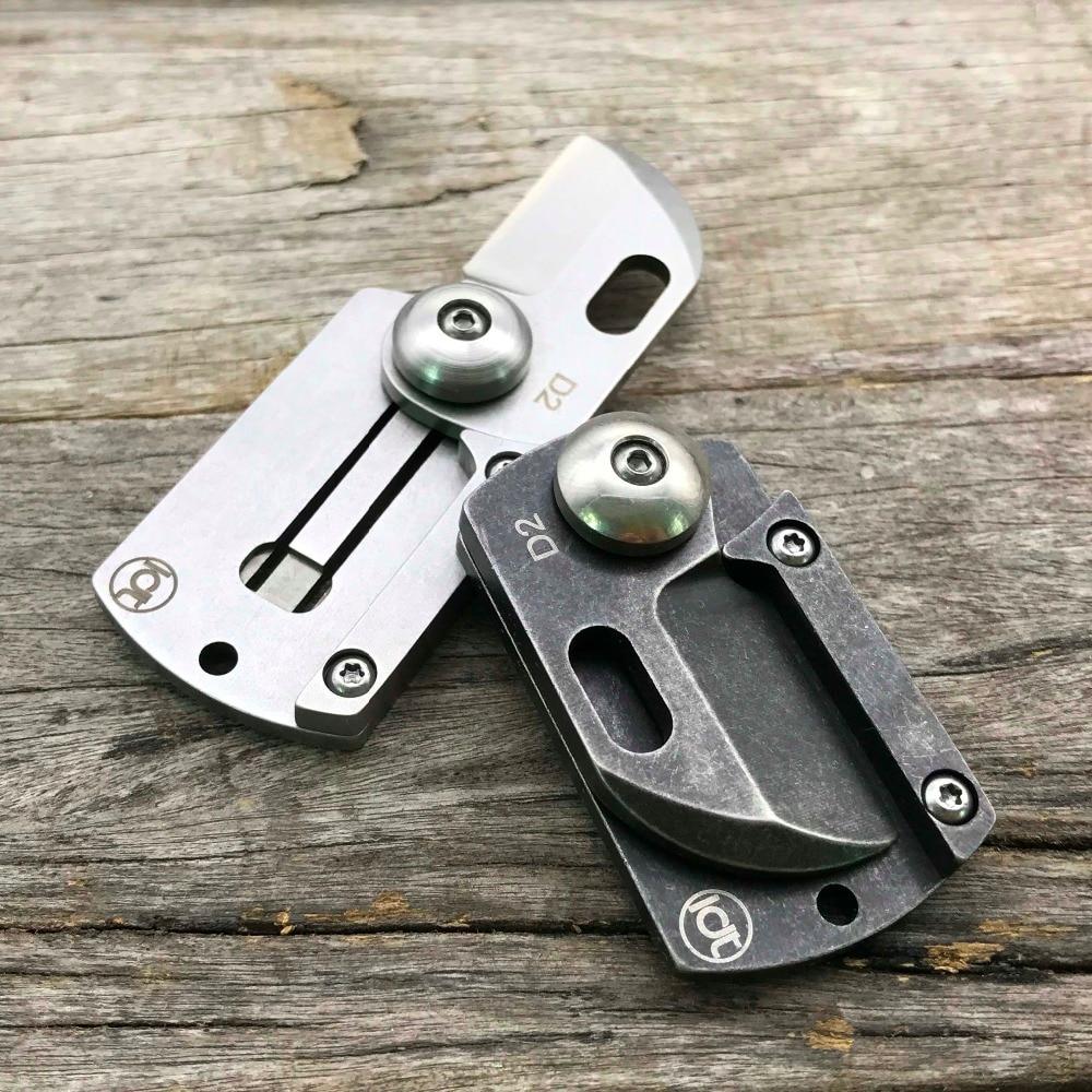 LDT šunų žymė Mini sulankstomi peiliai D2 ašmenų rankena - Rankiniai įrankiai - Nuotrauka 3