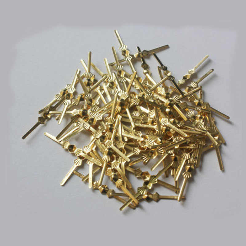 500PCS 33MM Sliver Chandelier Lamp Part Crystal Prisms Bead Connector Pin Bowtie