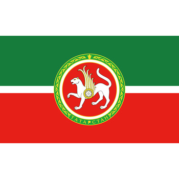 90*150cm 60*90cm Polyester Tatarstan Flag 3X5FT 90x150cm For Home Office Party Bar Banner