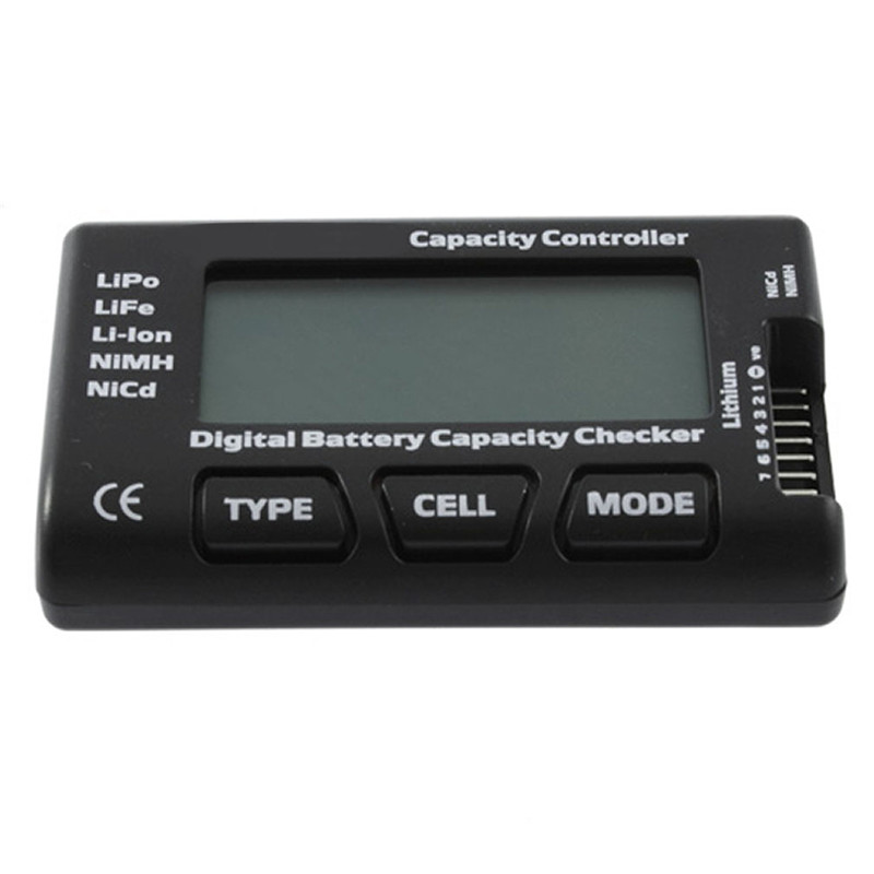 Digital <font><b>Battery</b></font> Capacity Checker Controller RC CellMeter 7 For LiPo LiFe Li-ion NiMH Nicd Tester <font><b>Measurement</b></font> Hot P1