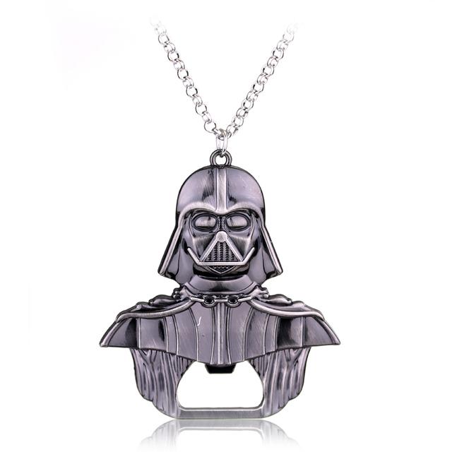 Necklace Millennium Falcon Darth Vader Metal
