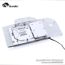 Backplate RTX2080 Water-Block Bykski ASUS ROG Light/compatible Use-For Original