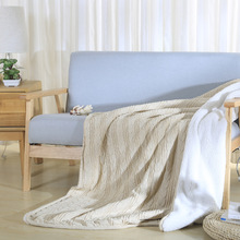 2016 Solid Promotion Swaddle Baby Blankets Newborn Blanket 1pc 100% Knitted Adult Kid Thick Lambwool Sofa Cobertor 120*180cm