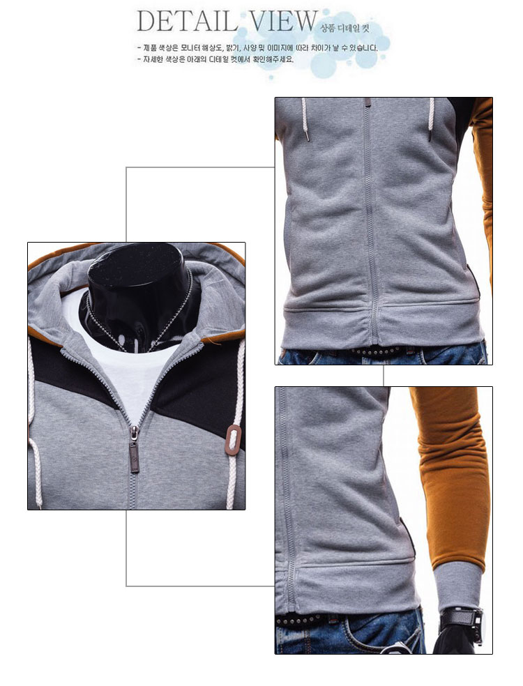 17 Hoodies Men Sudaderas Hombre Hip Hop Mens Brand Leisure Zipper Jacket Hoodie Sweatshirt Slim Fit Men Hoody XXL 4