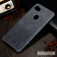 X Level Luxury Retro PU Leather Case For Google Pixel 2 Back Case Cover For Google
