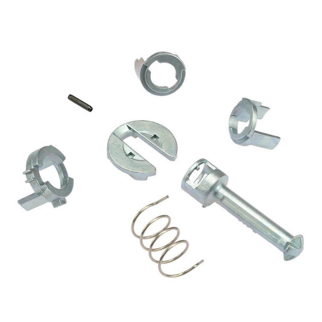 7pcs/Set Metal Door Lock Cylinder Barrel Repair Kit For BMW E46 3 Series M3 Front Right/Left