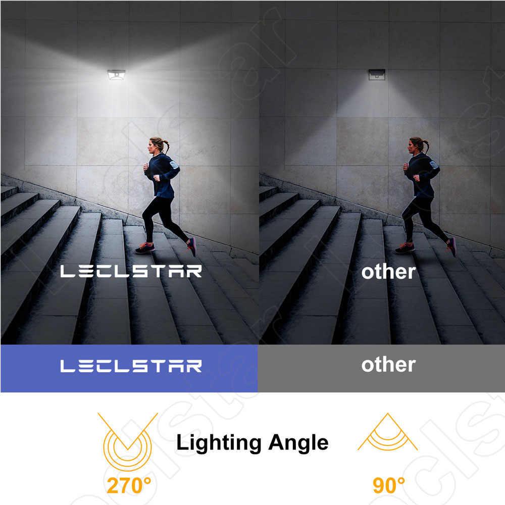 Светодиодный ночник с датчиком движения солнечной энергии ночник для украшения сада беспроводной настенный ночник 68 светодиодный датчик Luminaria