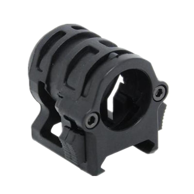 Tactical Helmet .830' RING LIGHT MOUNT Base Black DE For 20.7 MM Use Flashlight
