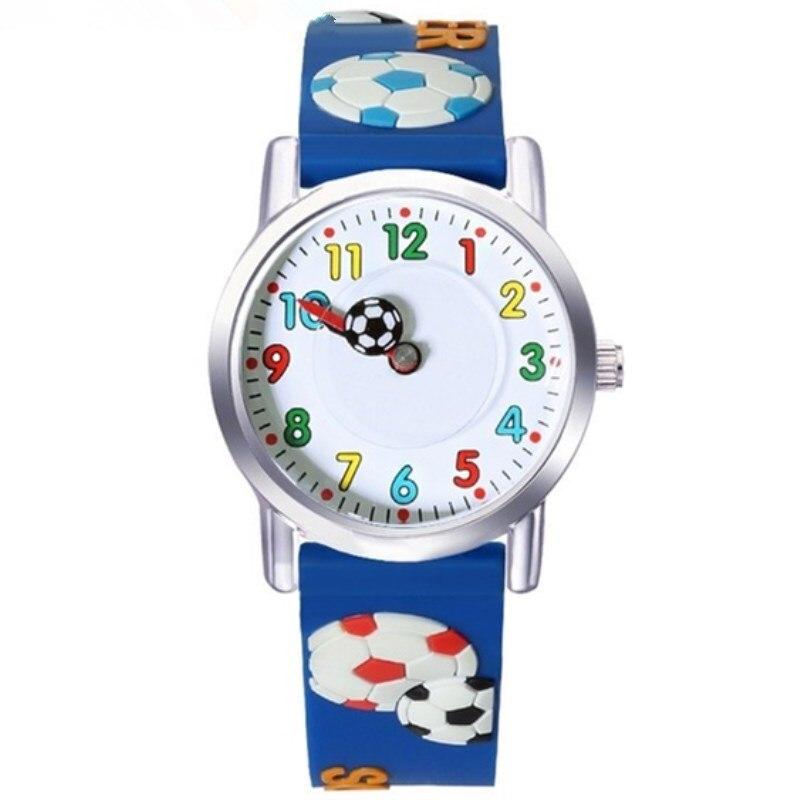 NEW Child 3D CLOCK WILLIS Brands Children Waterproof Watches Cartoons Design Analog Clock Kid Quartz Wrist Watches
