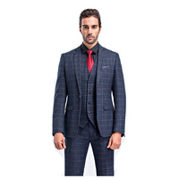 Will Code Man S Suit Three Piece Man Business Affairs England Lattice Time Photographic Studio Marry