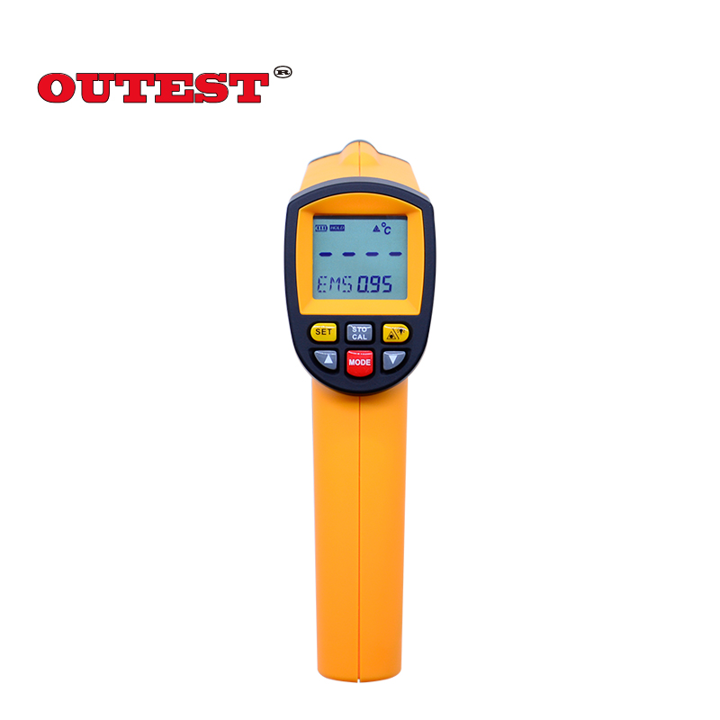 Original Non-contact digital ir Laser infrared thermometer gun 200 to 1650degree (392~3002F) GM1650 infrared thermometer original xiaomi mijia ihealth thermometer accurate digital fever infrared clinical thermometer non contact measurement led shown