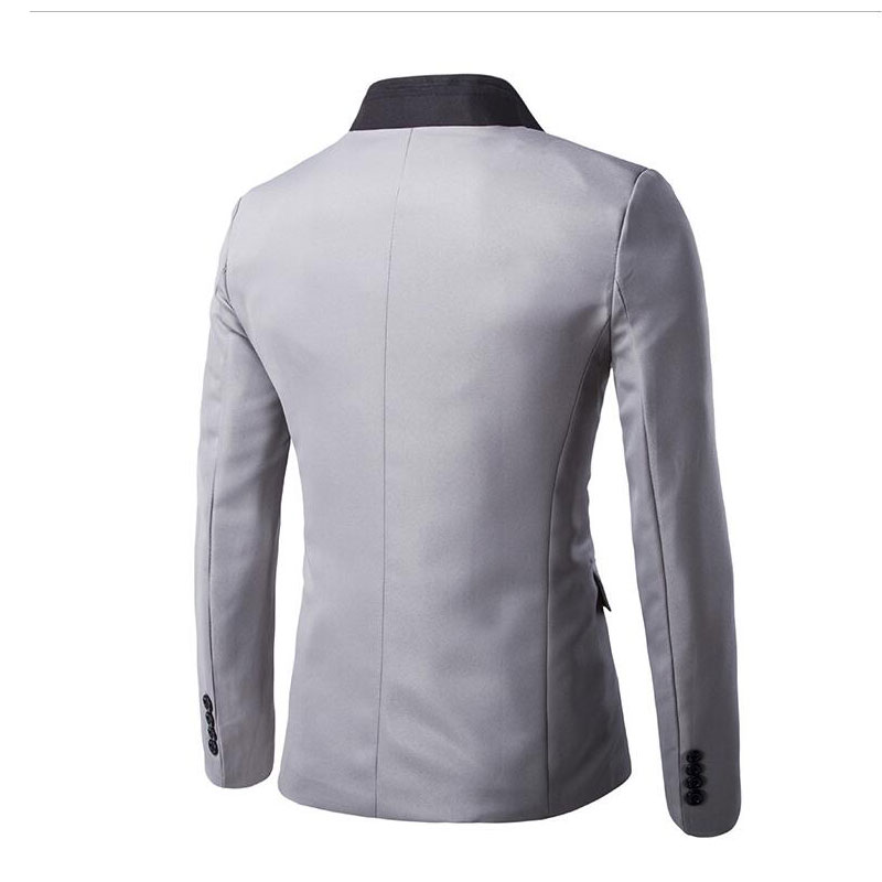 e587a20abff76 Blazer Men 2019 New Arrival Clothes Listing Fashion Style Top Brand Design  Suit Terno Casual Slim jacket blazer masculino-in Blazers from Men s  Clothing on ...