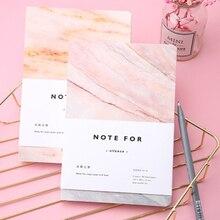 80 страниц для заметок, книга с мраморным дизайном, пустые страницы, блокнот, дневник, школьные канцелярские принадлежности, книжка, подарок
