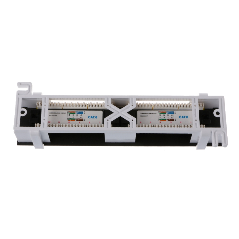 Image 5 - Network Tool Kit 12 Port CAT6 Patch Panel RJ45 Networking Wall Mount Rack Mount Bracket-in Networking Tools from Computer & Office