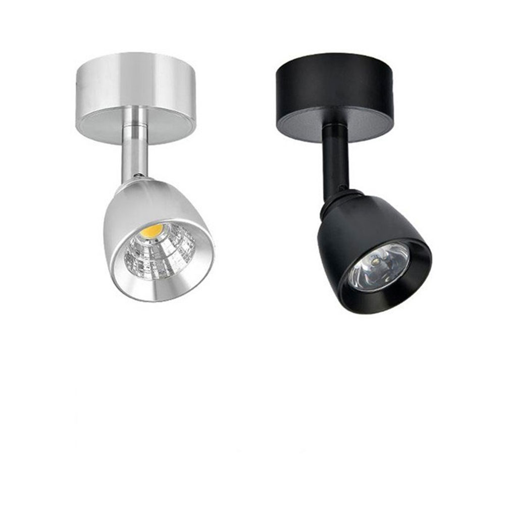 Bedside wall mounted lamps - 3w 5w Cob Led Modern Wall Mounted Or Ceiling Mounted Lamp Light Bedside Reading Light Study