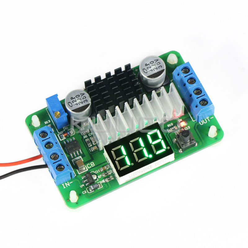 Mini Adjustable Power Supply Dc 3 5v 30v 10a 100w Boost