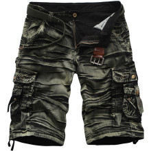 Summer Camouflage Loose Cargo Shorts 2018 New Men Cool Military Camo Short Pants Hot Sale Homme