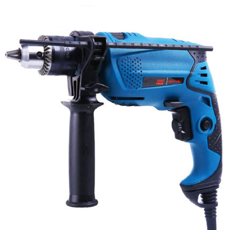 220v electric drill impact drill multi-function adjustable speed wood metal stone cutting off household wall hole drilling tools multi purpose impact drill for household use la414413 upholstery drilling wall percussion impact drill set power tools 220v 810w