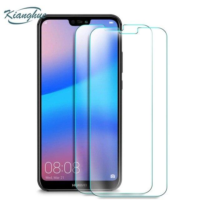 Kianghue закаленное Стекло для Huawei p20 Pro P10 P9 плюс P8 Lite 2017 Экран защитный Стекло для Huawei p20 легкий протектор фильм