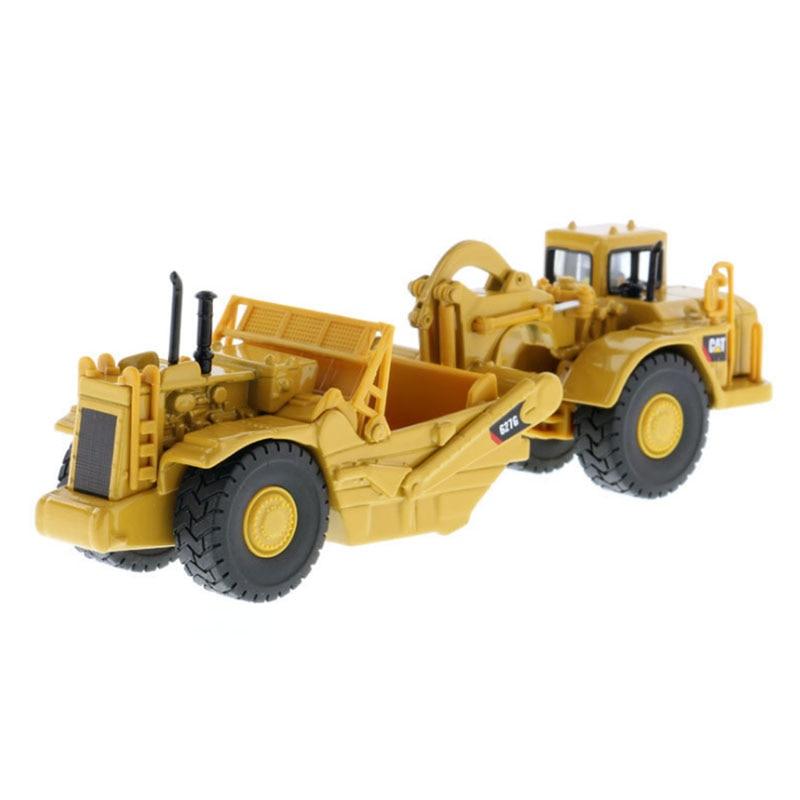 1: 87 échelle CAT 627G camion de Transport racloir simulé Transport alliage véhicule moulé sous pression 85134 pour enfants jouet ou Collection