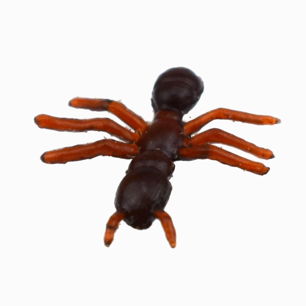 10pcs lot High Simulation Ants Toys Halloween Day Prank Props Children Funny Play Toy Insect Jouet For Birthday Gift in Action Toy Figures from Toys Hobbies