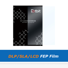 цена на 3pcs/lot DLP SLA LCD Resin 3D Printer Part UV FEP Film Sheet With Size 140*200mm for ANYCUBIC Photon Wanhao Duplicator D7