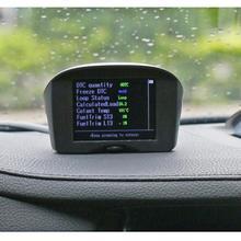 AUTOOL автомобиль OBD HUD Дисплей проектор напряжение скорость сигнализации Многофункциональный над скоростью Предупреждение лобовое стекло проектор сигнализация Sys