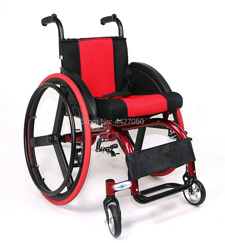 2019 Ultra light folding light portable sports wheelchair