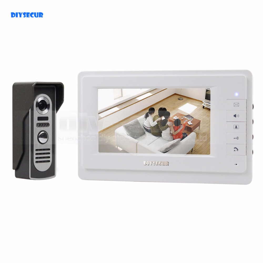 DIYSECUR 600TVLine Camera 7 inch TFT Color LCD Display Video Door Phone Intercom Doorbell Night Vision стоимость