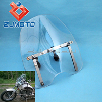 Universal Motorcycle Windshield Windscreen For Honda Shadow ACE 1100 750 Sabre Aero Spirit 1100 RS 750 VLX600