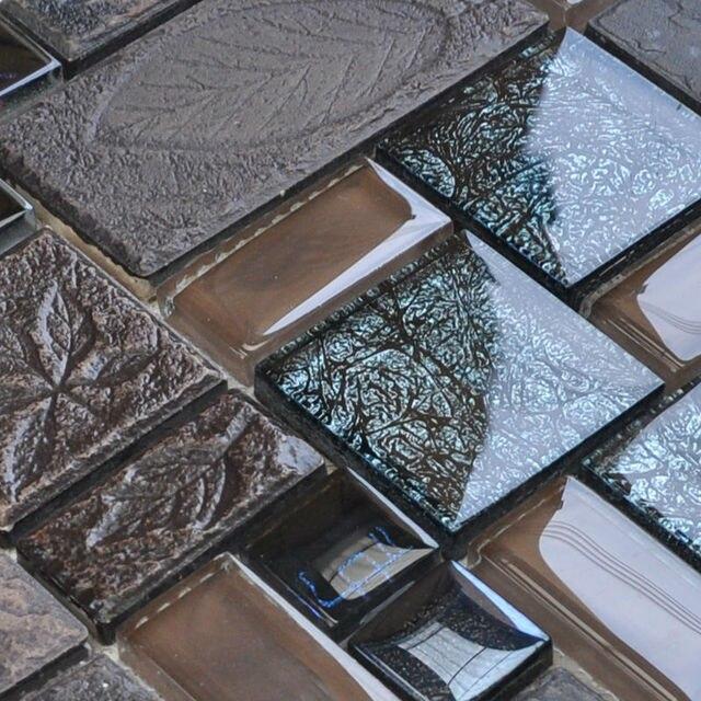 Porzellan Pool Fliesen Mosaik VG001 Oberfläche Glas Backsplash Küche Design  Bad Indoor Wandaufkleber Bodenfliesen Muster Ziegel