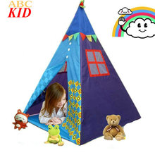 Hot Sale Baby Pyramid Playhouses Barraca Infantil Para Brincar Boys Girls Tents Kids Play Game House Tent BTY007