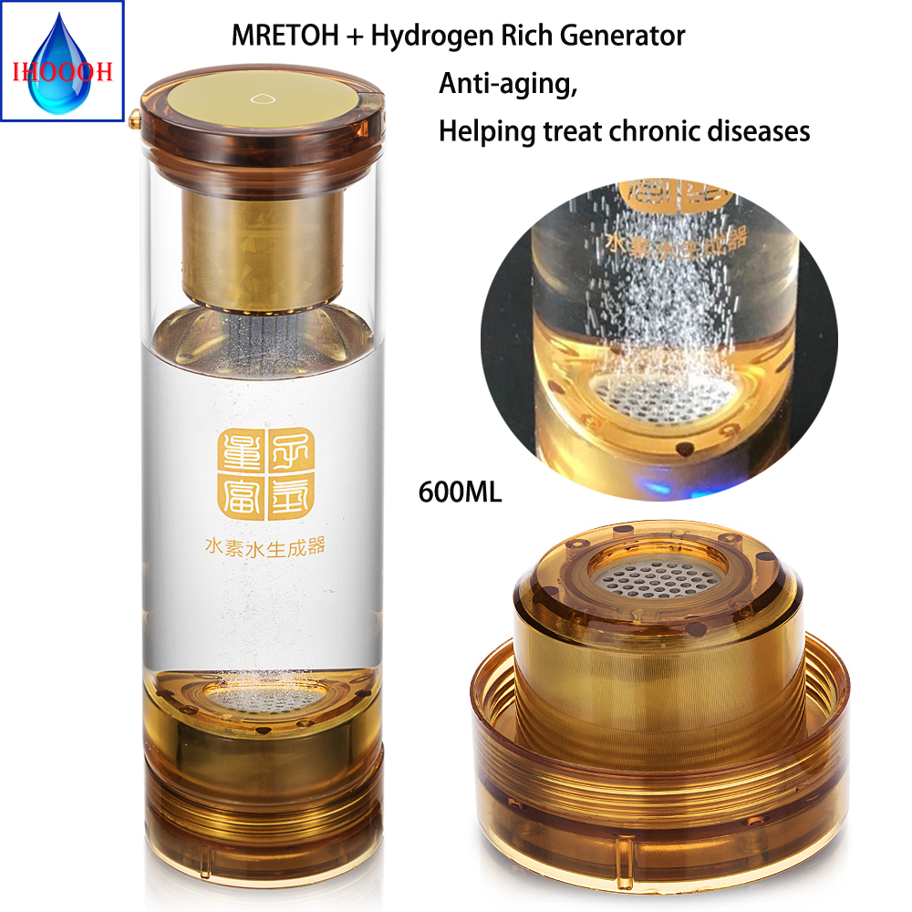 Генератор водородной воды и 7,8 Гц молекулярно резонансный эффект технология бутылки воды чашки повышает устойчивость человеческого тела