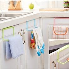 Вешалка для полотенец красивые и удобные высококачественные вешалка для полотенец подвесной держатель Органайзер для ванной комнаты кухонный шкаф вешалка для шкафа