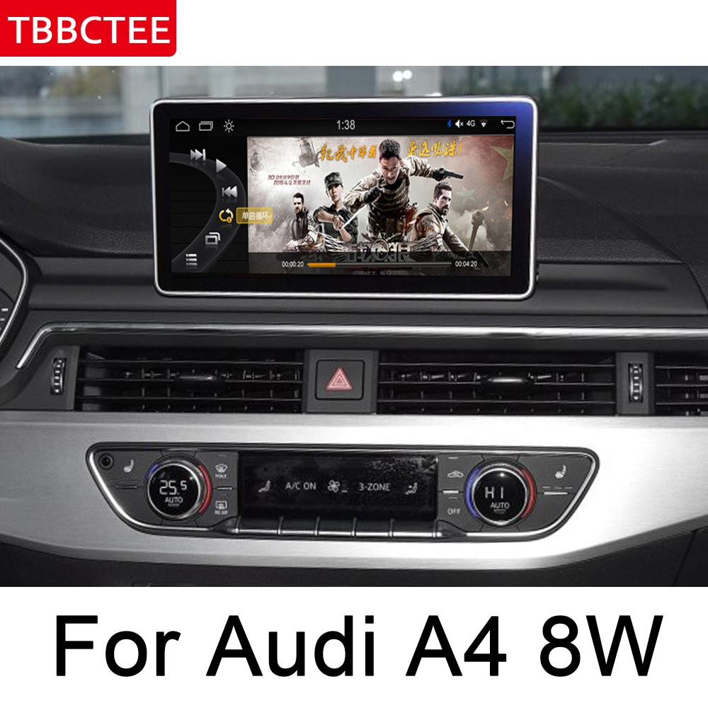 For Audi A4 8W 2016 2019 MMI 9 33 quot Android Multimedia Player GPS Touch Screen Stereo Autoradio navigation original style HD WIFI in Car Multimedia Player from Automobiles amp Motorcycles