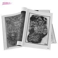 Профессиональный вспышки татуировки журнал книга эскиз тату Дизайн книга поставить картину инструкция flash для татуировки тела Книги по иск...