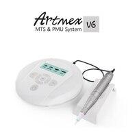 Permanent Makeup Tattoo Machine Artmex V6 Eye Brow Lip Rotary Pen V6 MTS PMU System
