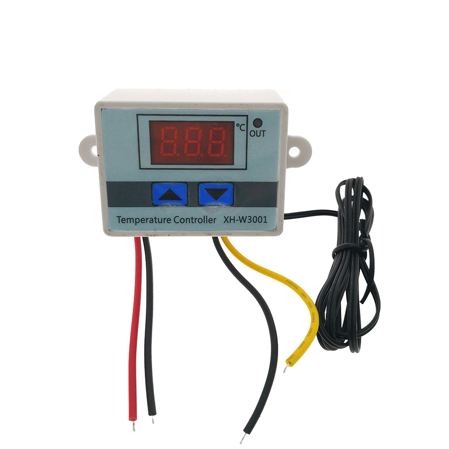 220V -50C-110C Digital Thermostat Temperature Controller Regulator Control Switch thermometer Thermoregulator XH-W3001 0 50c pid controller heating thermostat reptile dimming digital thermostat temperature controller day night thermometer timer