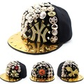 2016 Cool Kids Baseball Caps Street dance punk rivet Hip hop Cap snapback hats Baby Boys Girls Novelty hat