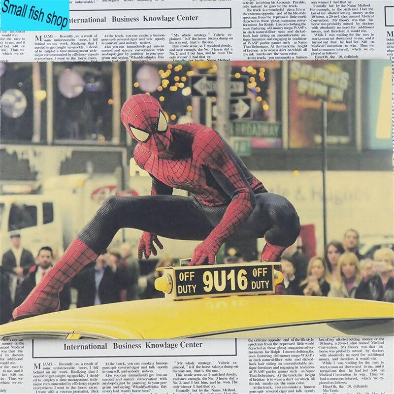 Капитан Америка Жинағы Iron Man spider man - Үйдің декоры - фото 6