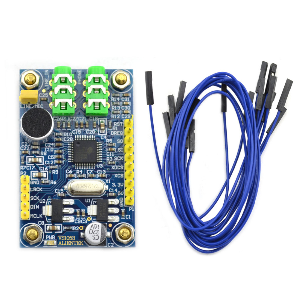 STM32 Development Board Accessory / VS1053 MP3 Decoder Module Board