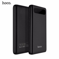 Original HOCO 20000mAh Power Bank 18650 Portable External Battery USB Charger Universal Mobile Phone 10000mAh PowerBank Charging