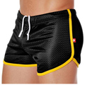 Hot Men Casual  shorts clothes mens home shorts male double net  shorts gay man sexy  Shorts