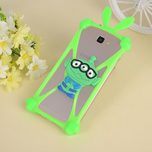 Colorful Elastic Silicon 3D Cartoon Phone Case For General Mobile 4G GM5 Pluls Smartphone Phone Cute Universal Cover Coque