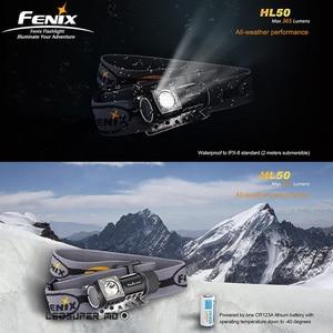 Image 2 - 多機能全天候型フェニックスHL50 365ルーメンcree XM L2 led T6フォーカスヘッドランプ懐中電灯ライト