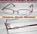 All alloy Diamond bow pink women Optical Custom made optical lenses Reading glasses +1 +1.5 +2+2.5 +3 +3.5 +4 +4.5 +5 +5.5+6