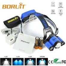 Boruit Головной фонарь с регулировкой яркости светодиодный регулируемым
