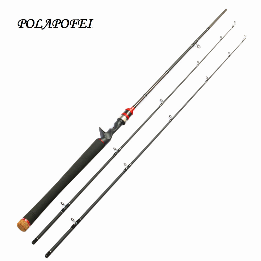 Polapofei 2 tips carbon spinning fishing rod fly fishing for Fly fishing with spinning rod